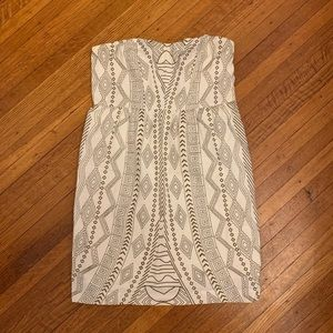Urban Outfitters strapless sundress